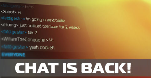 Chat is back!