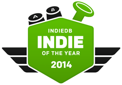 Vote for Robocraft as Indie of the Year!
